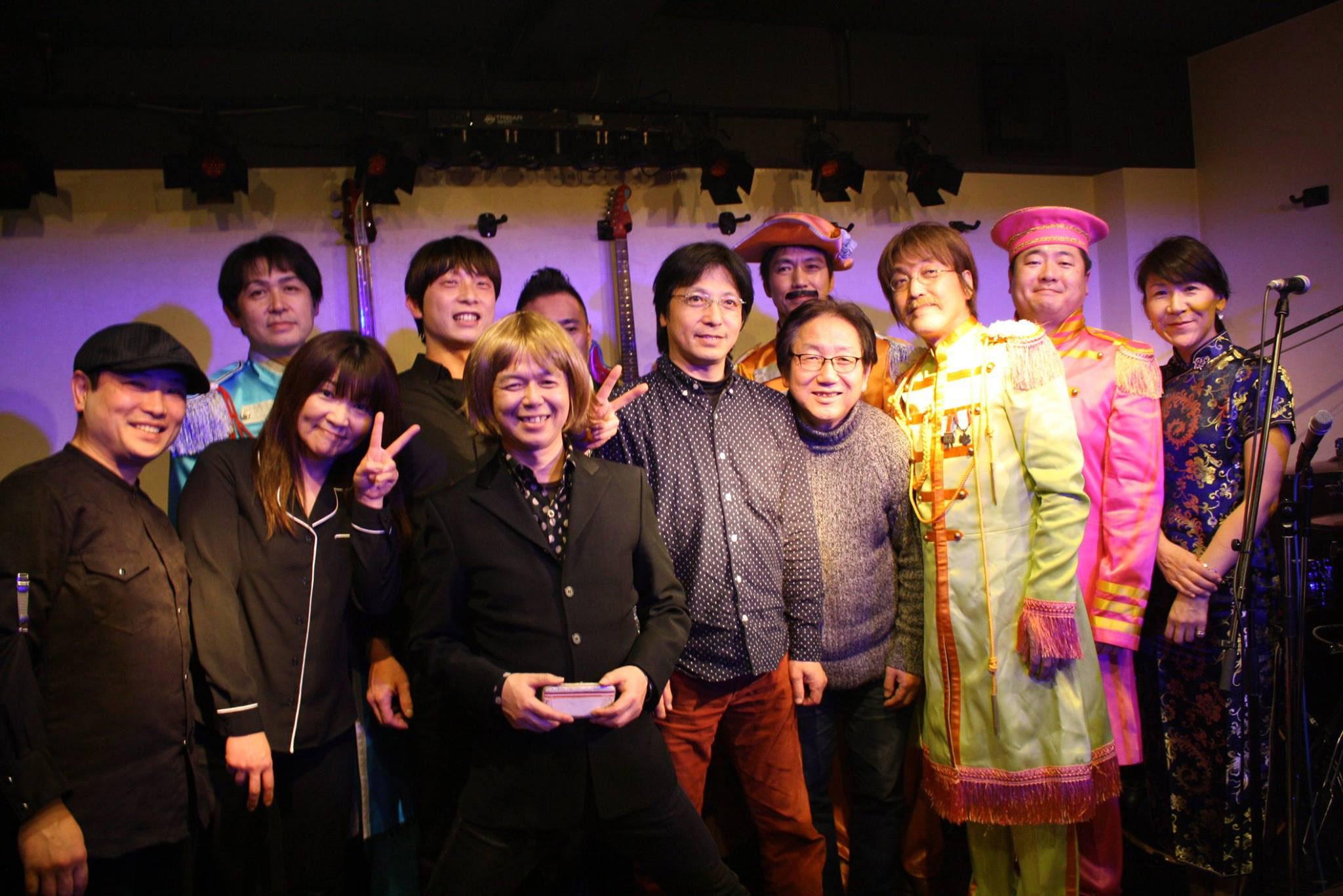 広島のビートルズバンドとの共演