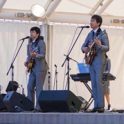 昭和の町音楽祭で演奏